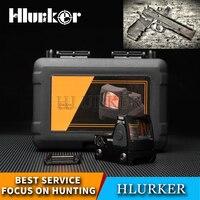 Hlurker Hunting Scopes Glock 17 RMR Reflex Adjustable Shotguns Micro Red Dot Airsoft Gun Sight Air Sniper Rifle Scope Riflescope