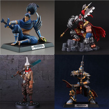 LOL League of Legends figure Action Game Jax Yasuo Model Collection Toy action-figure 3D Game Hero anime party Decoration Gift