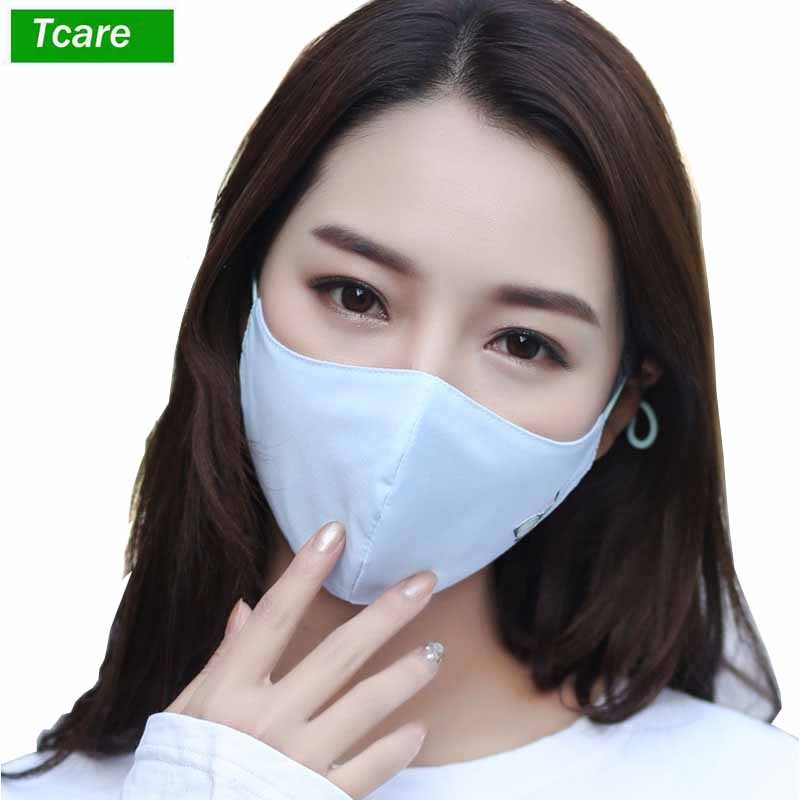 For Dustproof Woman - Anti Respirator Anti-bacterial Mouth Cover Fashion Face Washable Dust Mask Masks Kids Comfy Reusable