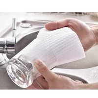Feiqiong нетканые чистящие салфетки 50 шт. набор одноразовые кухонные полотенца коврики для посуды универсальные удобные чистящие салфетки