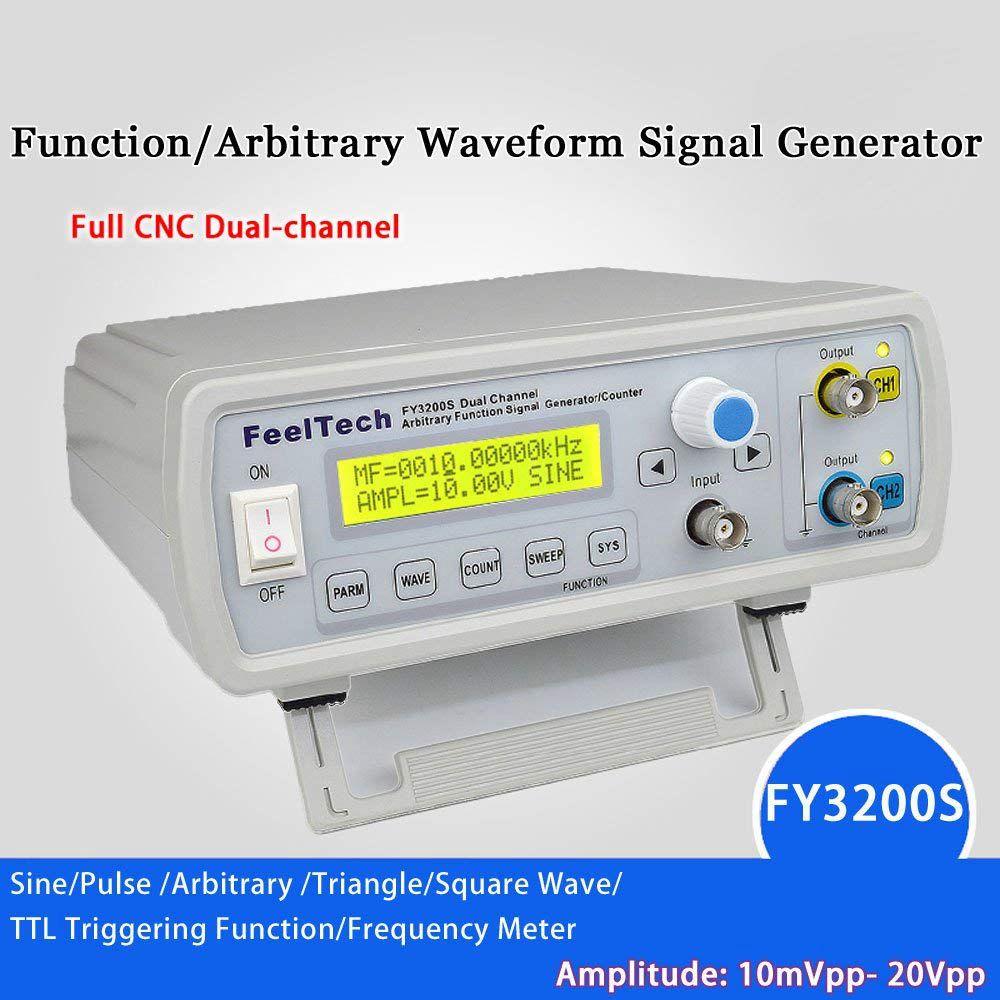 DDS fonction générateur de Signal fonction générateur de Signal double canal formes d'onde arbitraires compteur de fréquence d'impulsion 12 Bits 250 M