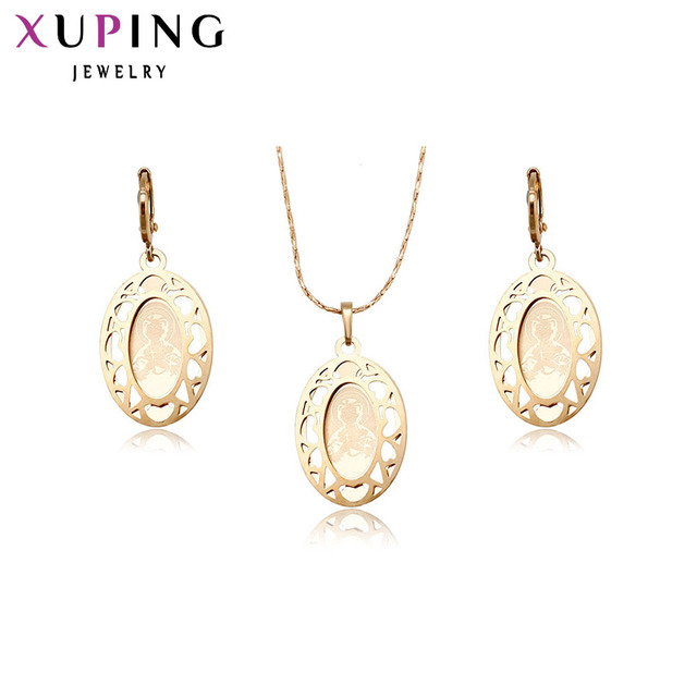 11.11 Deals Xuping Fashion Jewelry Sets High Quality ReligionGold Color Plated P