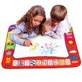 80*60 cm Drawing Água Esteira do Jogo Criança Prancheta Rabisco Pintura Imagem Mat Desenho com 2 pcs Caneta mágica