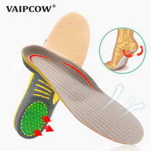 Multifunction orthotic insole for Flat Feet Arch Support orthopedic shoes sole sports Insoles for men and women heigh quality thickened memory form orthotic insole flat feet arch support height 3cm deep heel cup for men and women shoes