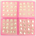 Free Shipping Wholesale Cheap Cat Eye Resin Plastic Anti-allergy Stud Earrings Ladies' Ear Studs 80pairs/lot
