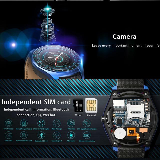 Beseneur Smart Watch V10 Support Sim Card Camera Bluetooth 2
