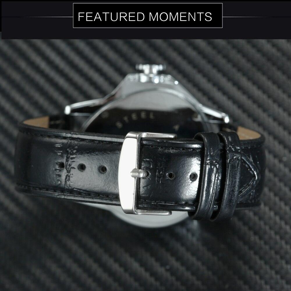 Moda de luxo masculino relógios de pulso