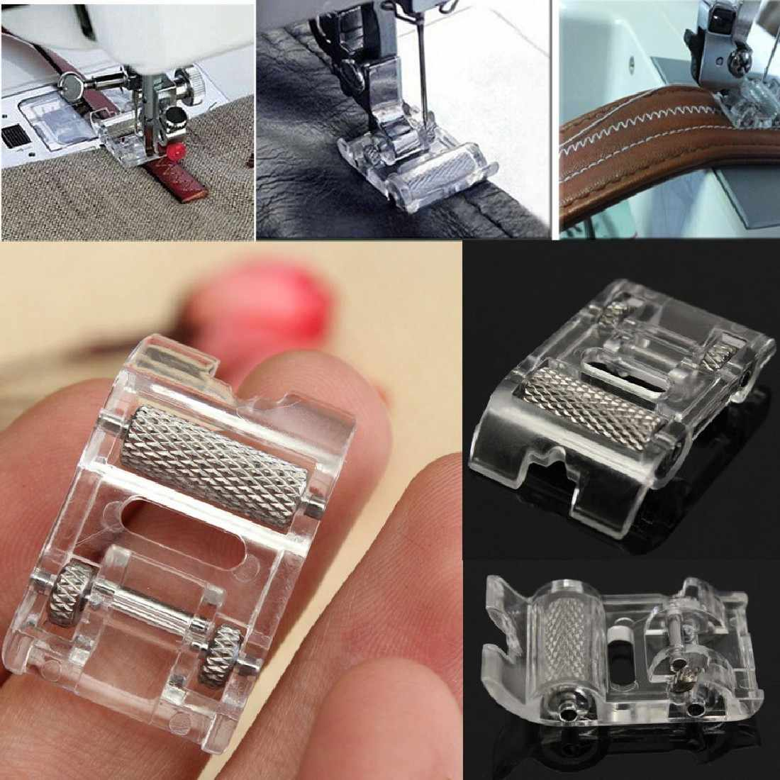 New Household New Mini Low Shank Roller Sewing Machine Presser Foot Leather Household Sewing Machine Accessories