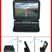 Upgrade Auto Video Monitoren Hd 5 In-Dash 800*480 Auto Auto Electric Flip/Automatisch Op Dvd /Minotor/2Av In Parking Camera