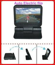 Yükseltme araba video monitörleri HD 5 In dash 800*480 araba oto elektrik çevirme/otomatik DVD /monitör/2Av çinde park kamerası