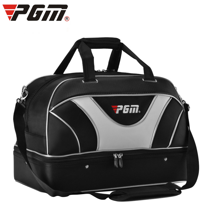 2018 PGM Golf Clothes Bag Men's Ball Bag Large Capacity Double Layer Clothes Bag Nylon Waterproof Golf Bag For Men