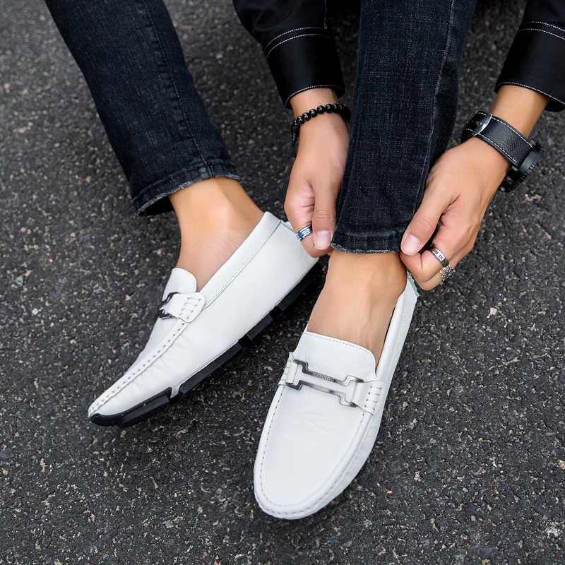 Mens Loafers Large Size Lofer Shoes Man