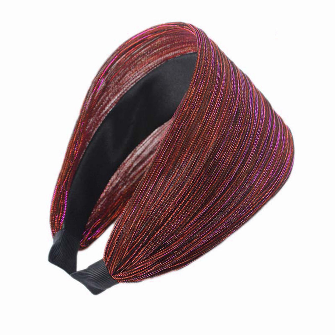 New Hairbands Boutique Hair Hoops For Tiara Hair Accessories Women Lady Girl Fabric Wide Headband Hair Band Headwear in Women 39 s Hair Accessories from Apparel Accessories