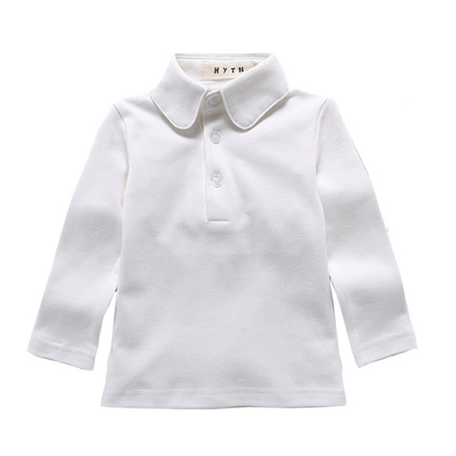 White Polo Shirts School Uniform Bcd Tofu House