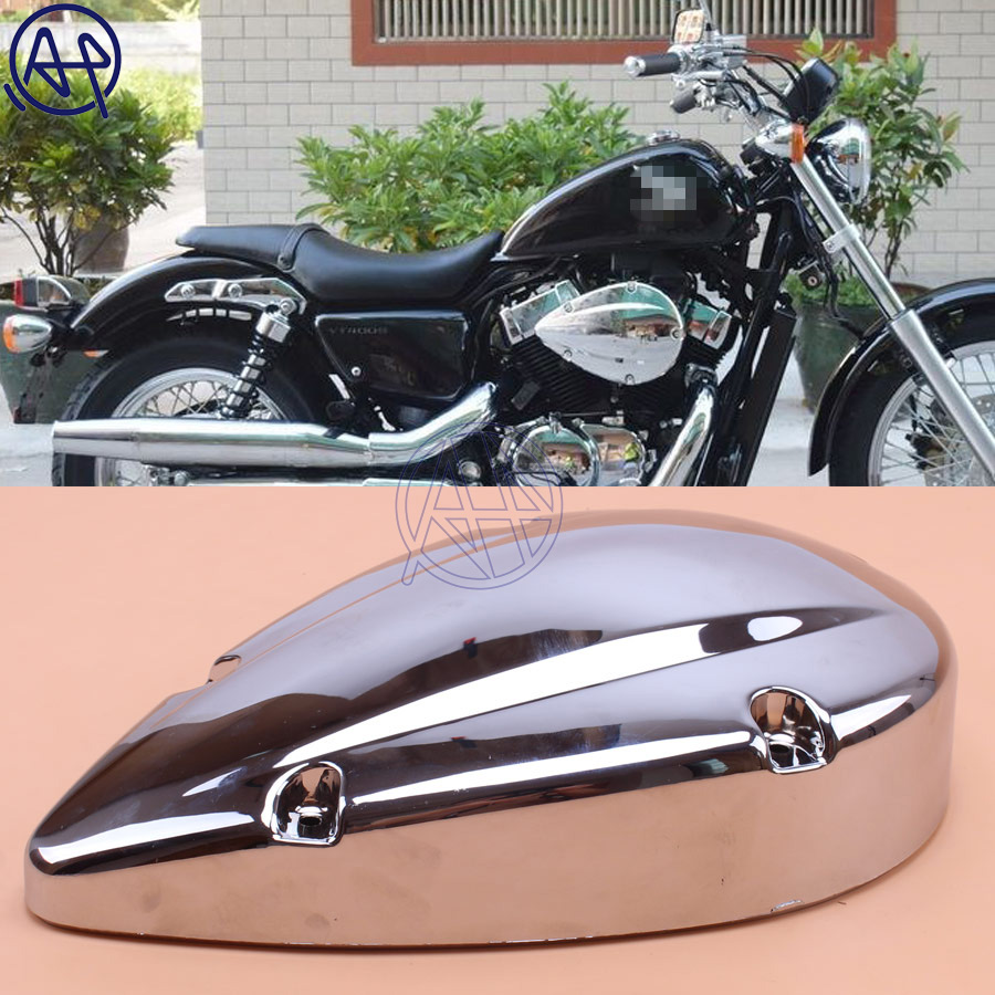 Brand new motorcycle chrome air filter cover for honda shadow aero 750 vt750c 2004 2012
