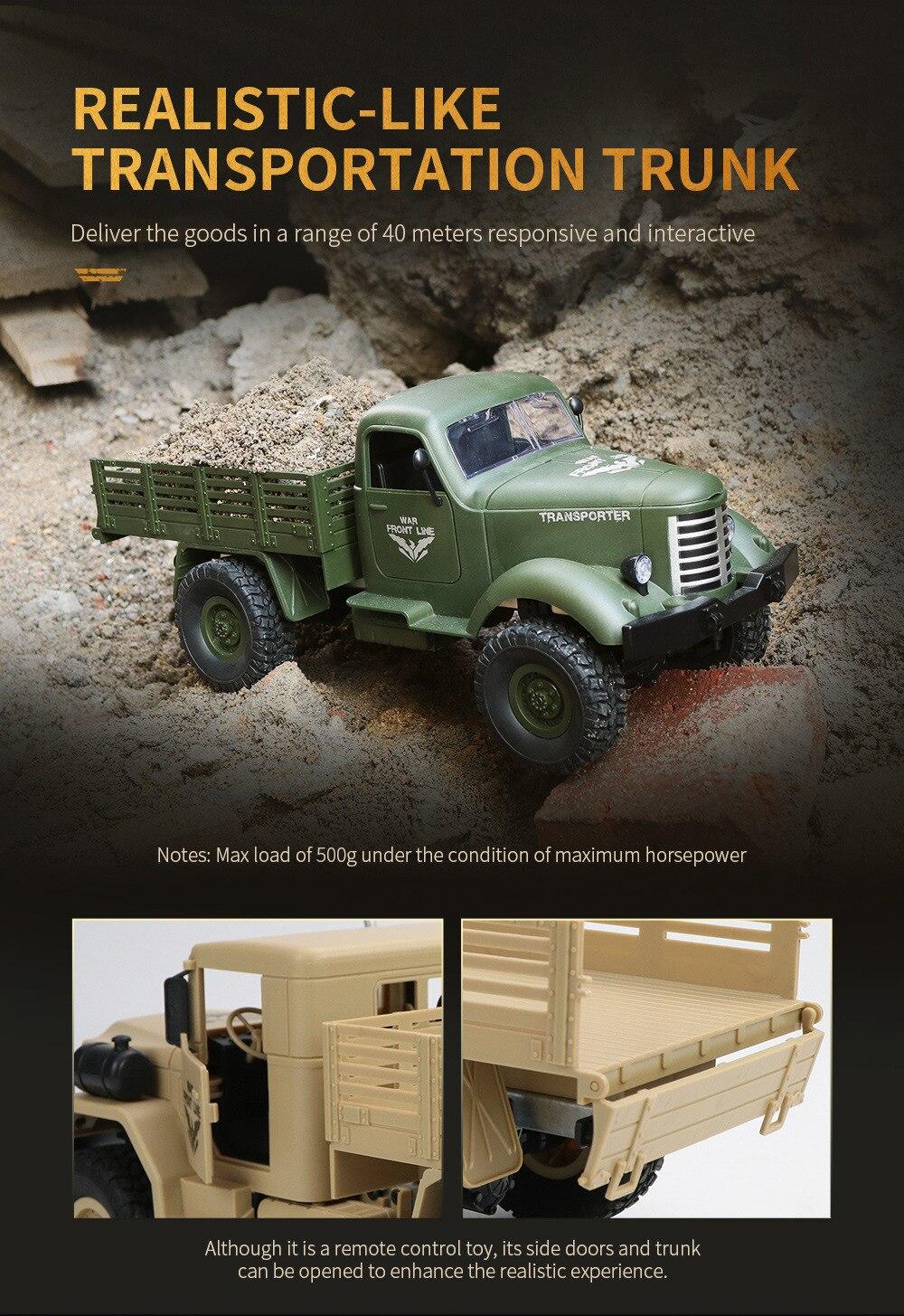 Remote Military Control 6WD 15