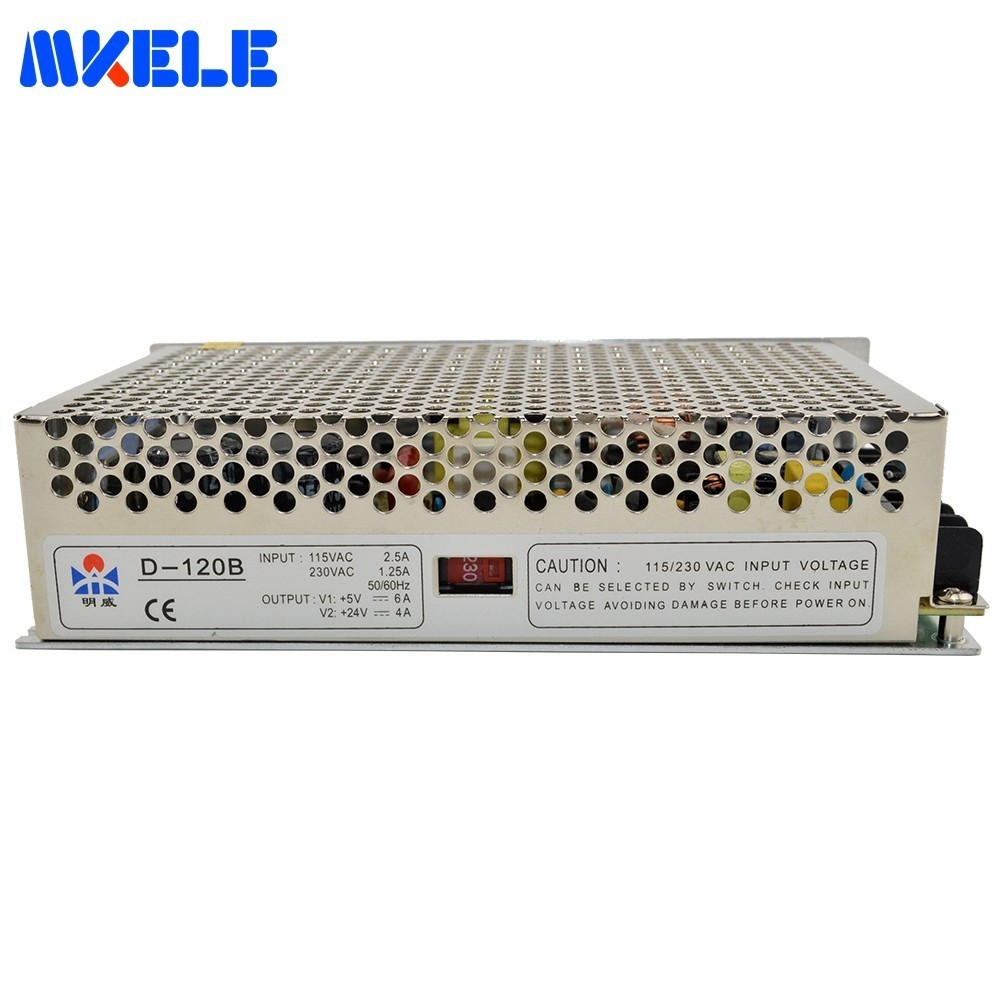 Low Price D-120B 120w 5V 6A 24V 4A Dual Output Switching Power Supply Double Output Voltage Transformer AC-DC Smps High QualityLow Price D-120B 120w 5V 6A 24V 4A Dual Output Switching Power Supply Double Output Voltage Transformer AC-DC Smps High Quality