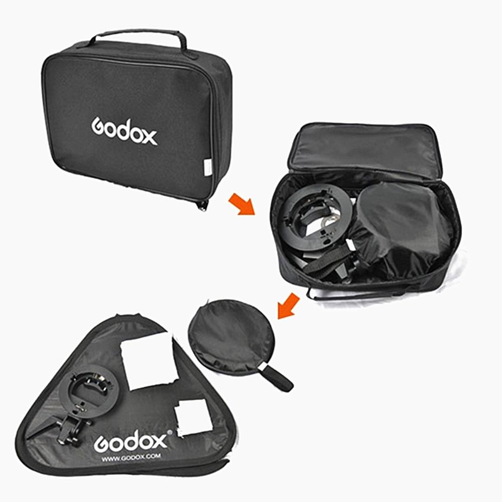 Godox Studio Photo Flash Softbox Light Kit 60 x 60 cm / 24