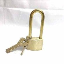 Solid brass door lock gate lock security door lock warehouse garden garage padlock lock for door lock for door van garage shed door security padlock