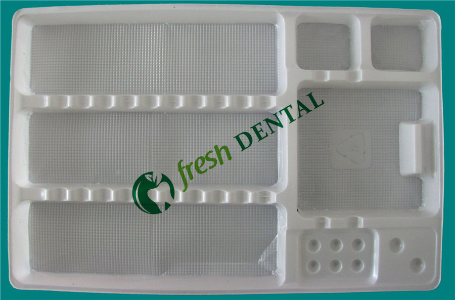 500 pcs bandeja dental consumível descartável bandeja