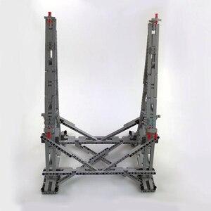 Image 4 - 407 個スターmoc戦争ミレニアムおもちゃファルコン垂直ディスプレイスタンドと互換性 05132 75192 究極のコレクターのモデル