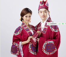Unisex Chinese Beijing opera costumes clothing /Peking Opera costumes/Chinese Folk Dance couple costumes