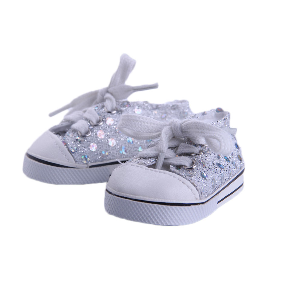 Doll shoes sport doll shoes for 18 inch american girl doll for baby gift n546