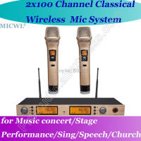 Free Shipping MICWL Pro Handheld Wireless DJ Karaoke Microphone Mic System for Stage Sing Speech meeting etc.