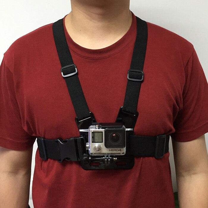 Elastic Chest Strap Belt Mount Harness For GoPro Hero 2 3 3 4 5 SJ4000 Camera