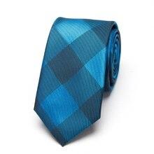 Men Neckties fashion Wedding leisure business Skinny Ties Mens New Fashion Party Slim Tie Jacquard Woven Narrow