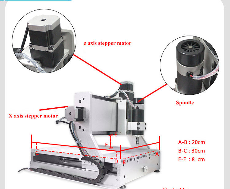 3020 CNC ROUTER ENGRAVING MACHINE CARVING COVER PLATES DESKTOP PROFESSIONAL 3020 engraving machine 4axis cnc router 3040z vfd800w engraving machine cnc carving machine cnc frame assembled