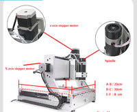 3020 CNC ROUTER ENGRAVING MACHINE CARVING COVER PLATES DESKTOP PROFESSIONAL 3020 engraving machine