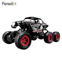 Off-Road Truck Portable Red Rc Vehicle Metal