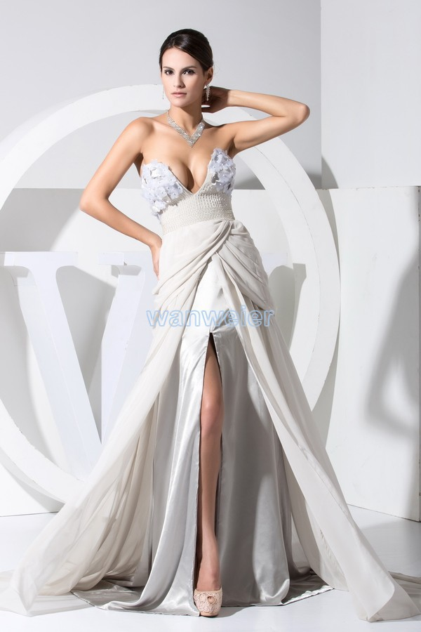 34fb45d3ee6cb Cheap for all in-house products wedding dress short front long back ...
