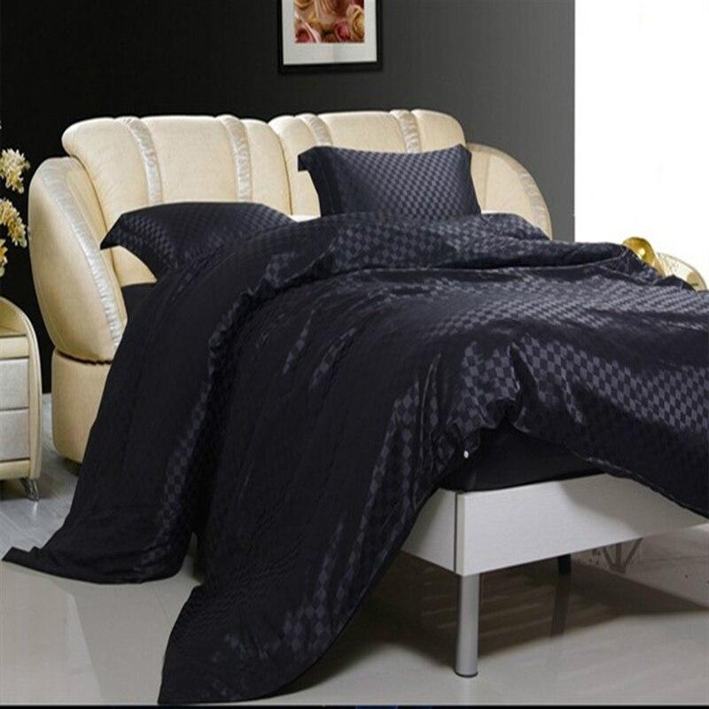 CP1 Hot Sale Bedding Set Luxury/Pink/smooth Silk Blended Silk Wedding  Bedding Luxury