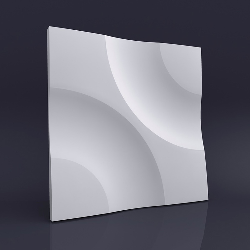 wall tile molds silicone molds for 3D Decorative concrete Wall Panels customized design Cement wall tiles molds 28*2cm