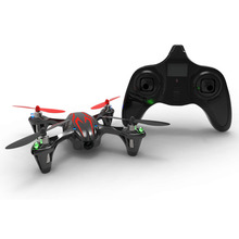 Hubsan H107C X4  2.4G 4CH Mini Quadcopter RC Helicopter RTF with 720P HD Video Camera Mini Drones Remote Control Toys Black/Red