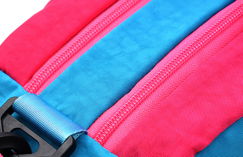 Waterproof Dry Wet Separation Swimming Bag Color Patch Outdoor Sports Beach Bath Storage Bag For Shoes Women Fitness Bag XA630WD