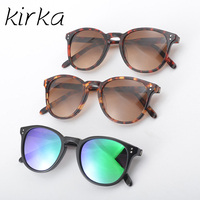 Kirka Hot Selling CR39 Lens Women Acetate Sunglasses Fashion Cat Eye Glasses Women Brand Designer Sunglasses