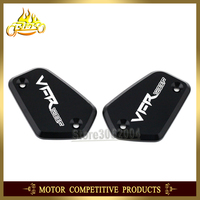 Front Brake Clutch Master Cylinder Fluid Reservoir Cover Motorcycle Sale For HONDA VFR 1200F VFR1200F Free Shipping WITH LOGO