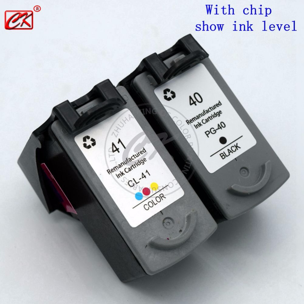CK PG40 PG41 CL41XL Ink Cartridge for Canon pg40 41 iP1180 iP1200 iP1300 iP1600 iP1700 iP1880