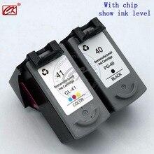 CK PG40 PG41 CL41XL картридж для CANON PG40 41 iP1180 iP1200 iP1300 iP1600 iP1700 iP1880 принтер Бесплатная доставка Лидер продаж