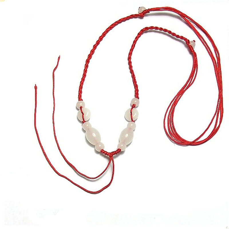 New Fashion style Simple Style Classic Lucky Chinese Braided Red String Rope Cord Bracelet Gift
