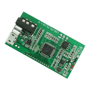 Image 3 - DSP PLL 87 108 MHz LCD Display FM Radio Wireless Microphone Stereo Transmitter / Receiver Module Bestseller Brand New