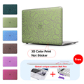 Green Bandana Patterned Print Case Cover For Apple Macbook Pro 13 Case Air 11 Pro Retina 12 13.3 15 Laptop Bag For Mac Book Air
