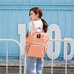 Image 5 - Backpacks for Women Diaper Bags Mummy Maternity Nappy Bags Large Capacity Travel Backpack Designer Multi Pocket Mummy Backpacks
