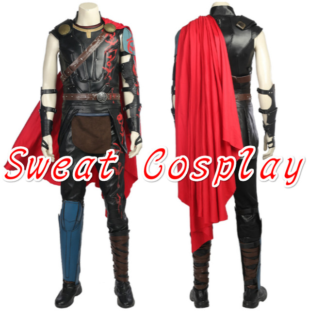 high quality thor ragnarok odinson cosplay costume halloween costumes for adult men thor 3 superhero thor costume