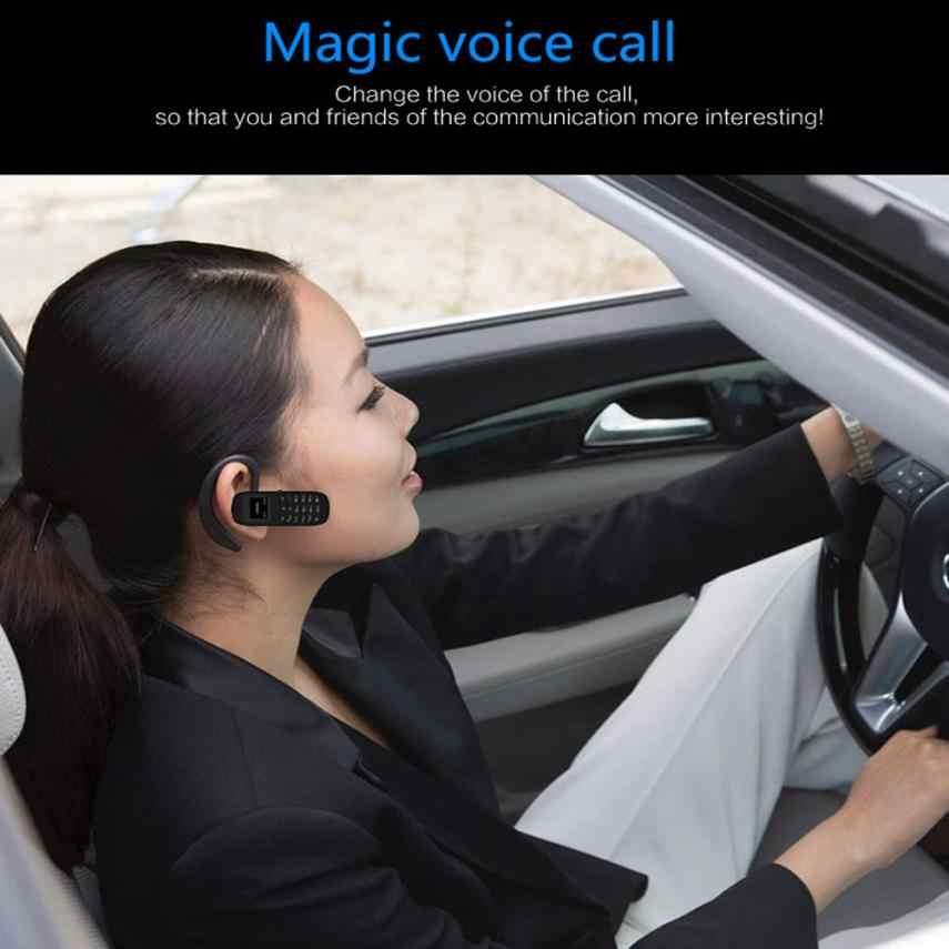 Wearable Perangkat BM70 Mini Kecil GSM Ponsel Bluetooth Dialer Earhook Headset Ponsel BK Aksesoris Dropshipping