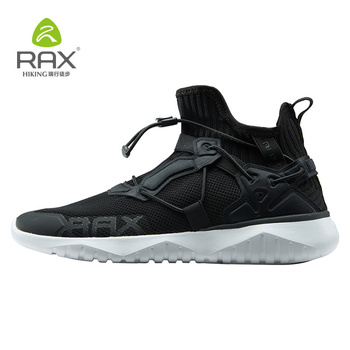 Rax Men Running Shoes Breathable Mesh Outdoor Sports Sneakers Men Women Gym Trainers Running Shoes Jogging Walking Sneakers фото