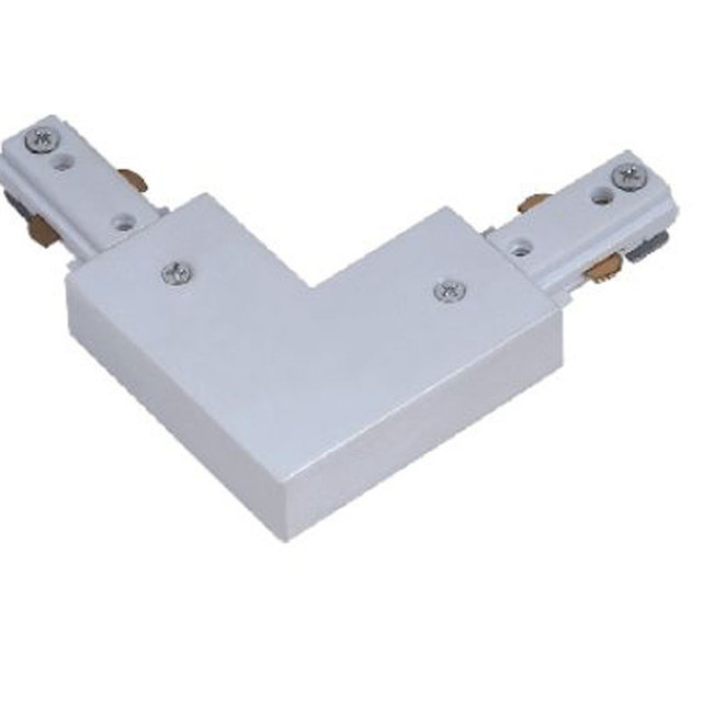 Connector Three wire guide rail right angle Track lighting Corner ...